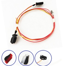Red/White Door Panel Warning Lights Lmap Cable Harness Wire Plug For A1 A3 A4 B8 A5 A6 A7 A8 Q3 Q5 Q7 TT Seat Leon Toledo Ibiza