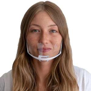 Face-Shield Visor-Protective Anti-Splash Nose Hygiene Safety Transparent Mouth Plastic