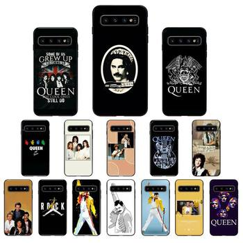 YNDFCNB Freddie Mercury Queen Band Phone Case for Samsung Galaxy S6 S6edge Plus S7 S7edge S8 S9 S10 Plus S20 image