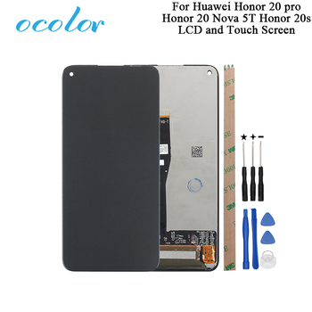 Ocolor For Huawei Honor 20 Pro Honor 20S LCD Display And Touch Screen For Huawei Nova 5T Honor 20 Phone Accessories With Tools фото