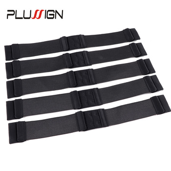 5Pcs/Lot Adjustable Elastic Band For Wigs Flat Cord Wig Strap With Adjust Clip Bands Sewing - discount item  26% OFF Hair Tools & Accessories