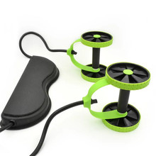 AB колеса ролик стрейч эластичный абдоминальное сопротивление тяга инструмент для веревки AB ролик для тренировки мышц живота