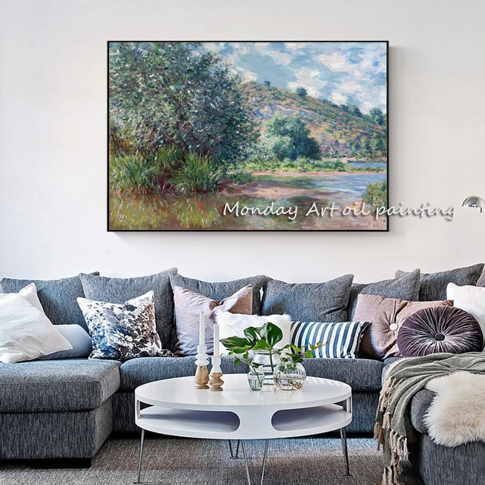 Claude-Monet-paisaje-en-el-puerto-de-pinturas-en-la-pared-reproducci-n-impresionista-arte-de (1)副本