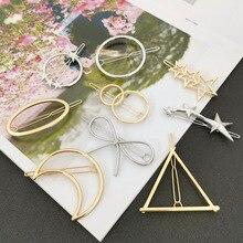 Fashion Stars  Triangle Geometric  Hair Clips