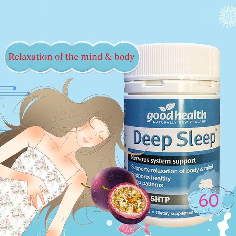 GoodHealth Deep Sleep 60 Nervous Tension Irritability Relief Natural Restful Sleep Support Nervous System Stress Mind Relaxation