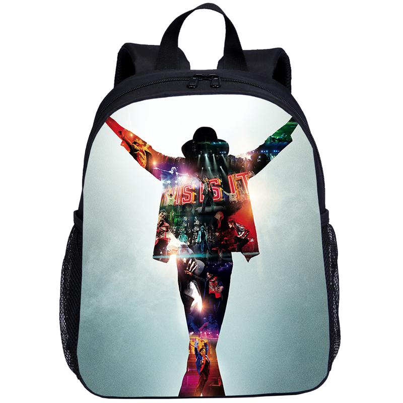 2020  Children Backpack Michael Jackson School Bag Baby Boys School Backpack Kindergarten Bookbag Kid Bags Printing Cool Satchel