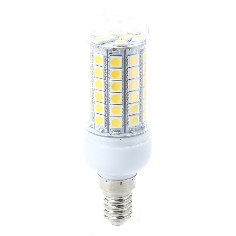 Promotion! Projector Lamp Bulb Light Warm White 8W E14 69 LED SMD 5050 AC 220V 3000K