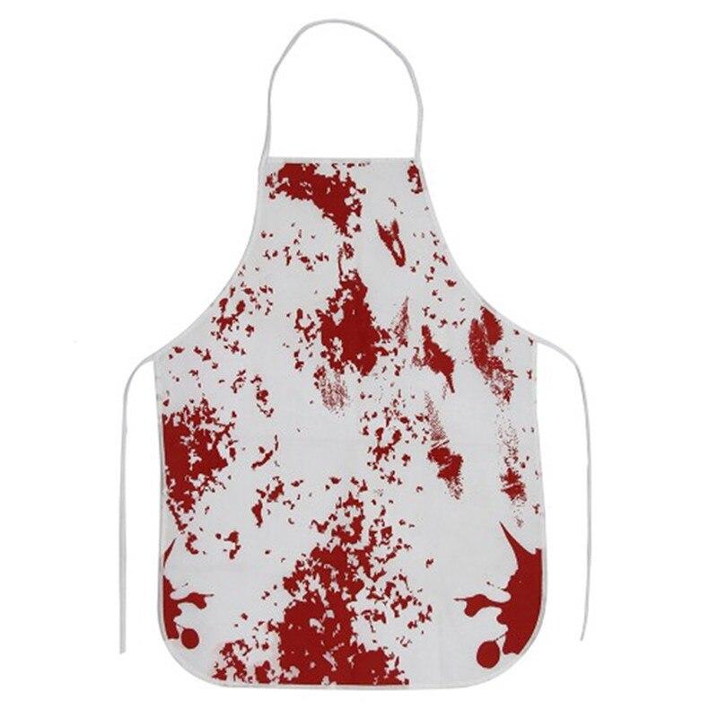 Adult Bloody Butcher Blood Splatter Killer Apron Fancy Dress Halloween Costume