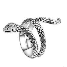 Vintage Punk gótico anillo de los hombres de la moda de los hombres, anillo de joyería de Halloween