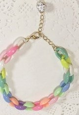 Pet Colorful Bell Cute Macaron Necklace Dog Cat Rabbit Pendants