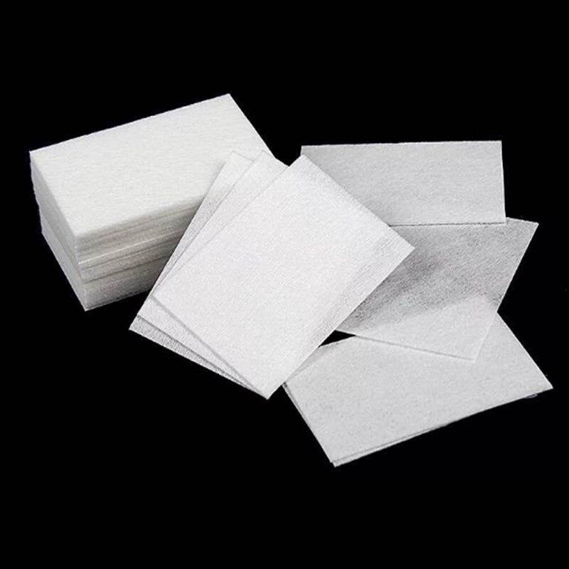 Hot Sale 100PCS/Lot Nail Polish Remover Nail Wipes Lint-Free Nail Polish Remover Cotton Wipes Cleaner Hand Napkin Manicure Tools