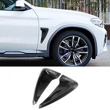 Car accessories ABS flexible Carbon fiber Side Marker Fender air flow car sticker for M5 M2 X1 X2 X3 X4 X5 F10 F30 e46 Z4 X6 M3
