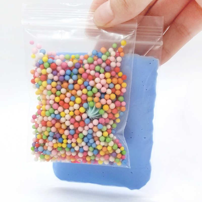 30g + 10g yumuşak bulut balçık pamuk kabarık köpük mini kil DIY mukus dekompresyon manuel bulut zanaat anti-mite balçık çocuk oyuncakları