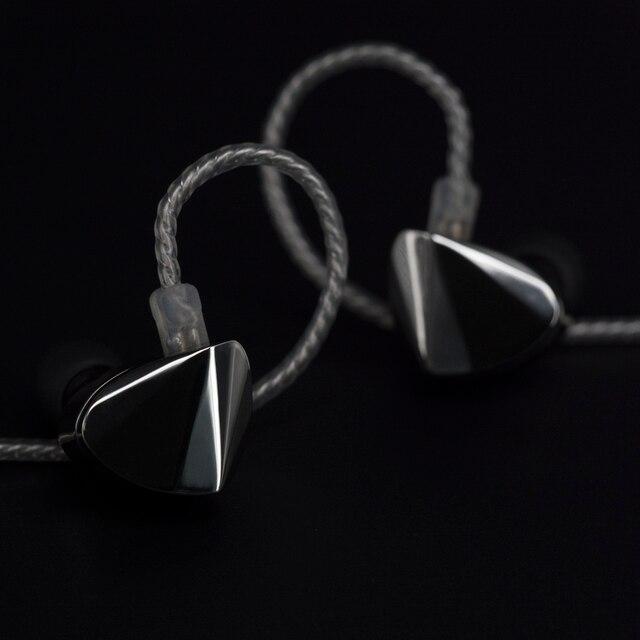 Moondrop KXXS Diamond Like Carbon Diaphragm Dynamic HIFI In Ear Earphone Monitor Stage IEM Earbud Plating Metal Detachable 2Pin 6