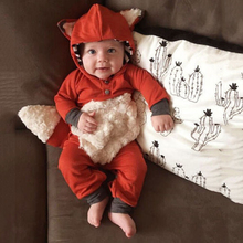 Kigurumis Baby Clothes Onesie Romper Animal Fox Infant