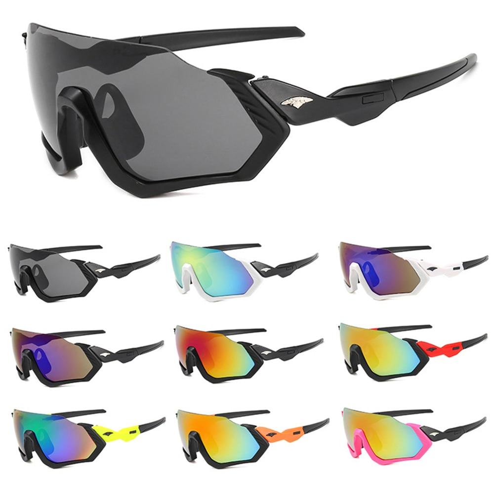 Men Women Sport Cycling Glasses Eyewear UV400 Outdoor Sport Sunglasses Windproof Goggles Riding Fishing Sun Glasses Colorful