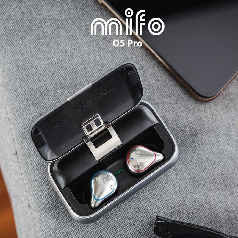 Novo mifo o5 bluetooth 5.0 verdadeiro sem fio bluetooth fone de ouvido binaural mini fones de ouvido in-ear fones de ouvido à prova dhifi água alta fidelidade frete grátis