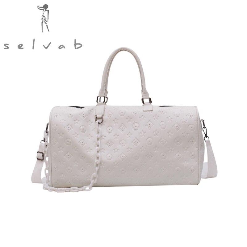 2019 new ladies travel bag sports shoulder bag handbag short travel bag large capacity fitness bag