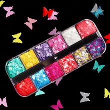 Nails-Accessories-Tool Decoration-Spring Manicure-Gel-Design Flake Rainbow-Color Sequins