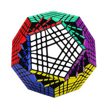 ShengShou Teraminx Кубик Рубика 7x7 Magic Cube Shengshou WuMoFang 7x7x7 Головоломка додекаэдра Развивающие игрушки