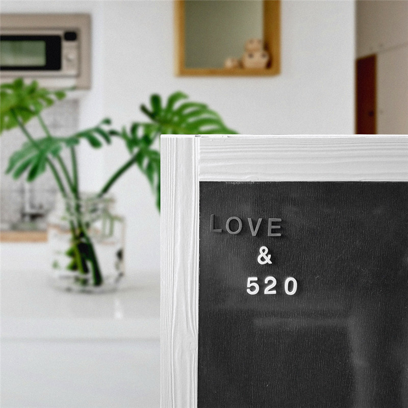 Image 5 - 180PC Srefrigerator Magnets Souvenir Letter, Symbol DIY Wall Decoration Foam Black and White Letters Home Decoration Accessories-in Fridge Magnets from Home & Garden