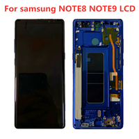 100% Original AMOLED Display For SAMSUNG Galaxy NOTE8 N950F N950U NOTE9 N960U N960F Display Touch Screen Replacement Parts