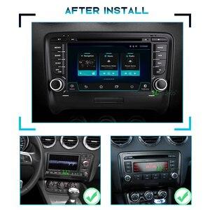 Image 3 - Autoradio 2 DIN Android 10 car radio PX6 For Audi TT MK2 8J 2006 2012 2DIN auto audio Car stereo navigation screen multimedia