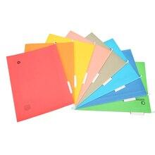 8PCS A4 Sized Suspension Folder Hanging File Holder Frame Documents Holder Organizer Desktop Office Supplies