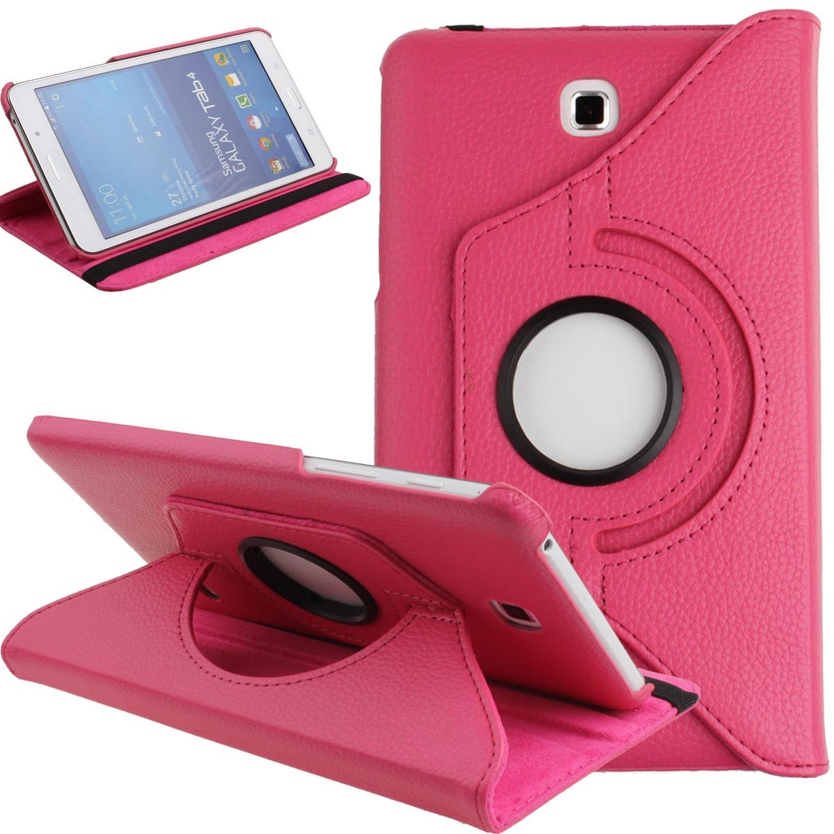 360 Rotating Case For Samsung Galaxy Tab 4 7.0 Flip Holder Stand PU Leather Cover Tab 4 7.0 T230 T235 SM-T230 SM-T235 T231 Cases