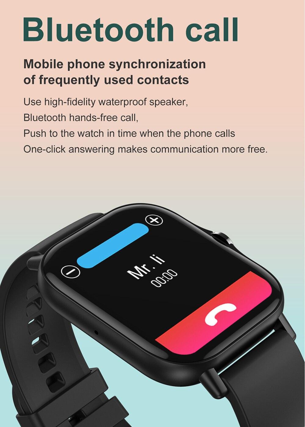 H6c2bdce8027f4baa821b3420bfc967f3o For Xiaomi Apple Phone IOS Reloj Inteligente Hombre Smartwatch 2021 Men Bluetooth Call Smart Watch Man Woman Full Touch IP68
