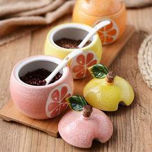 Керамический шейкер для соли в форме фруктов приправа соль сахар