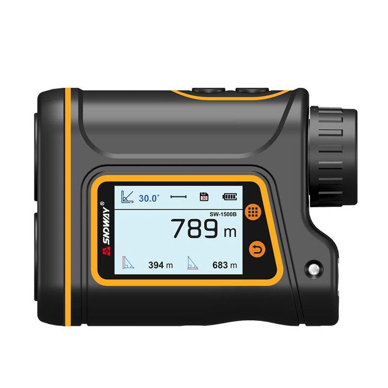 SNDWAY SW1000-B Golf laserowy dalmierz laserowy 600m 1000m 1500m ekran dotykowy bateria litowa