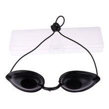 Óculos de tanque macio para praia e olhos, óculos ajustável para proteção uv em formato de olhos, 1 peça