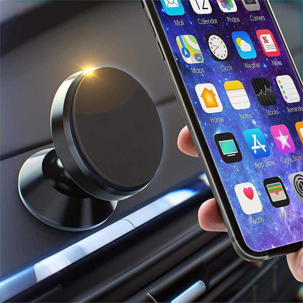 Универсальный магнитный автомобильный держатель для телефона, подставка для Mazda