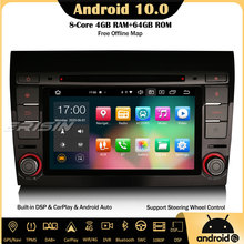 DVR DVB-T2 Gps Carplay Car-Stereo Android 10.0 Erisin SWC Fiat Bravo Canbus Dab Dvd-Player