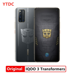 Original Vivo IQOO 3 5G 12G 128G Mobile Phone 180HZ Screen Snapdragon 865 Android 10.0 6.44