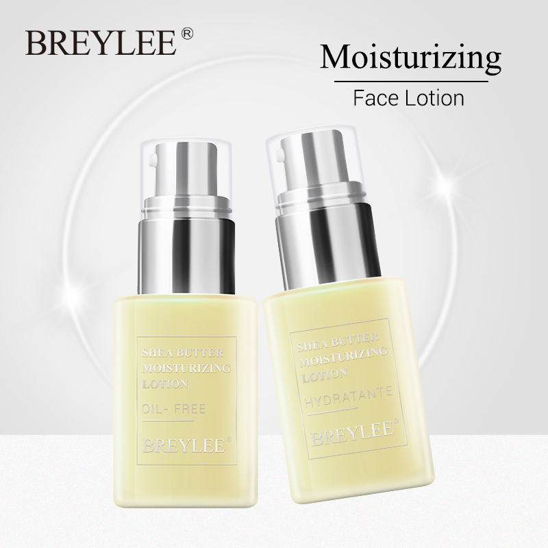 BREYLEE Face Cream Lotion Skin Care Shea Butter Moisturizer Anti Aging Emulsion Easy To Absorb Day Night Cream Moisturizing 45g
