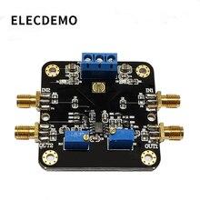 NE5532 модуль с низким уровнем шума модуль усилителя 10 МГц полоса пропускания общий режим коэффициент отклонения 100 дБ функция демонстрационная плата