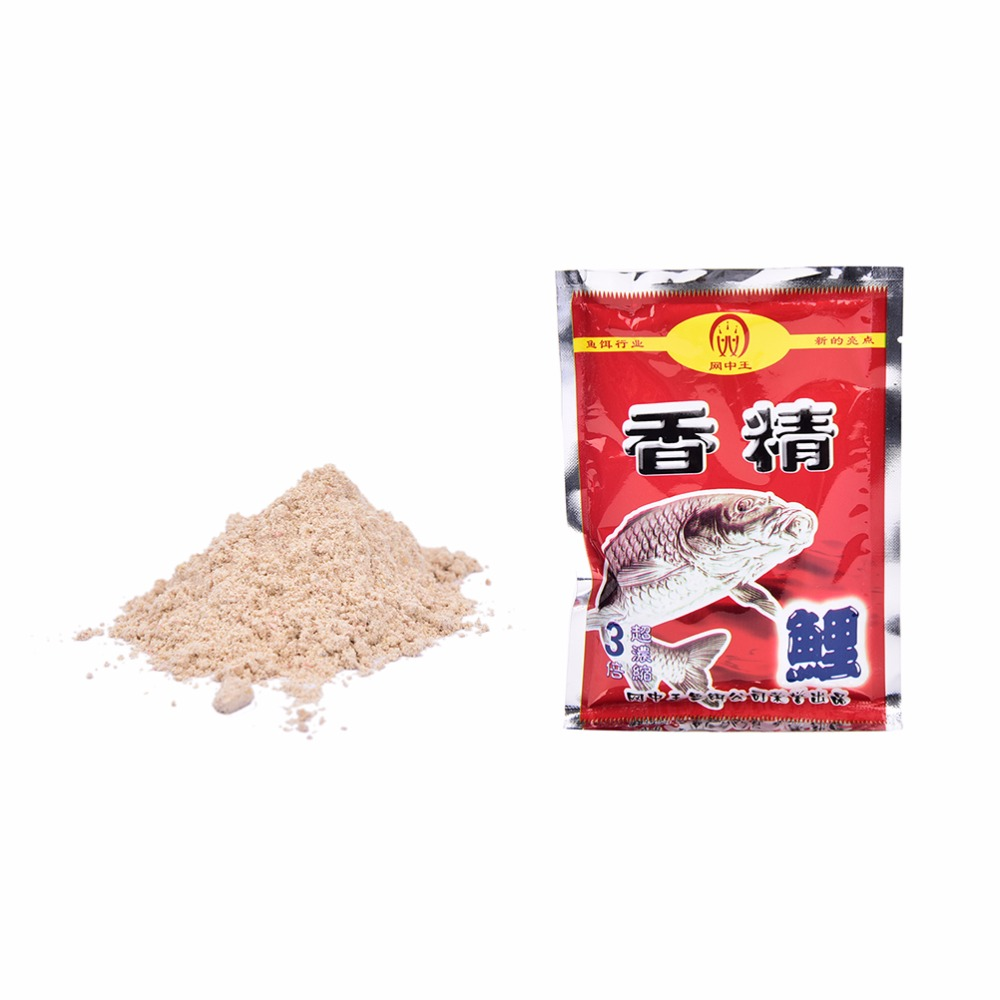 Hot 1 Bag 30g Fishmeal Bloodworm Powder Fish Buster Carp Killer Fishing Necessary Natural Baits Fishing Lure image