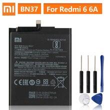 Bateria de substituição original para xiaomi mi redmi6 redmi 6 redmi 6a redrice 6 bn37 telefone genuíno bateria 3000mah