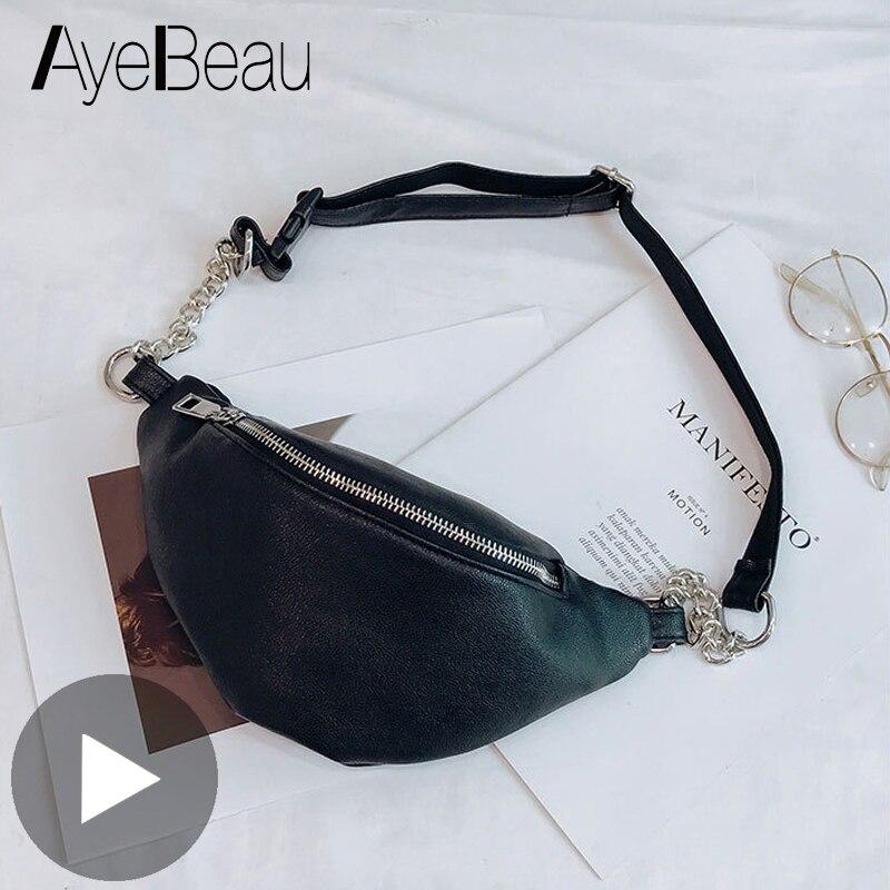 Waistbag Belly Banana Bum Hip Chest Belt Waist Bag For Women Fanny Pack Female Pouch Murse Purse Kidney Bumbag Beltbag Ledvinka