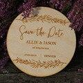 Персонализированные Свадебные сохранить дату магниты деревянные магниты свадебное украшение в деревенском стиле дерево сохранить даты