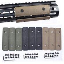3 шт. тактические Пейнтбольные детали Keymod Handguard Rail Cover панель пластина для M4 AR15 страйкбол AEG GBB Охотничья винтовка пистолет аксессуары
