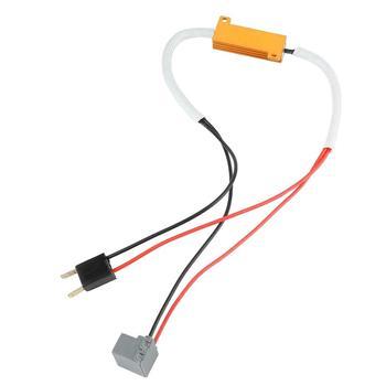 2X H7 LED far Canbus dekoder hata ücretsiz Anti titreşimsiz direnç Canceller