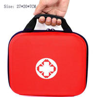Doppel tragbare first aid kit EVA medizinische kit familie outdoor auto Notfall taschen medizin kit first aid kit 20/26 artikel tracdical-in Notfallkoffer aus Sicherheit und Schutz bei