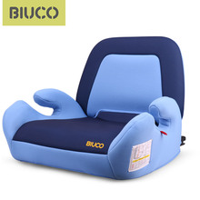 цена на BIUCO Car Seat Booster Seat With ISOFIX Connector Child Car Safety Seats Increased Seat Pad  Fits For Kids 3-12 Years Old