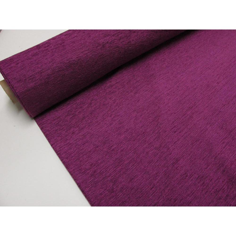 Tela Polycotton Vintage Verano Floral Flor de color púrpura Pequeño Material Metro Craft