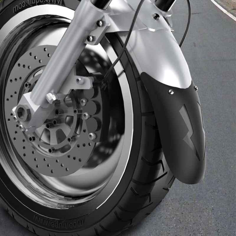 Evrensel Motosiklet Uzatmak Ön Çamurluk Arka andFront Tekerlek Uzatma Çamurluk Çamurluk Splash Guard Motosiklet Için