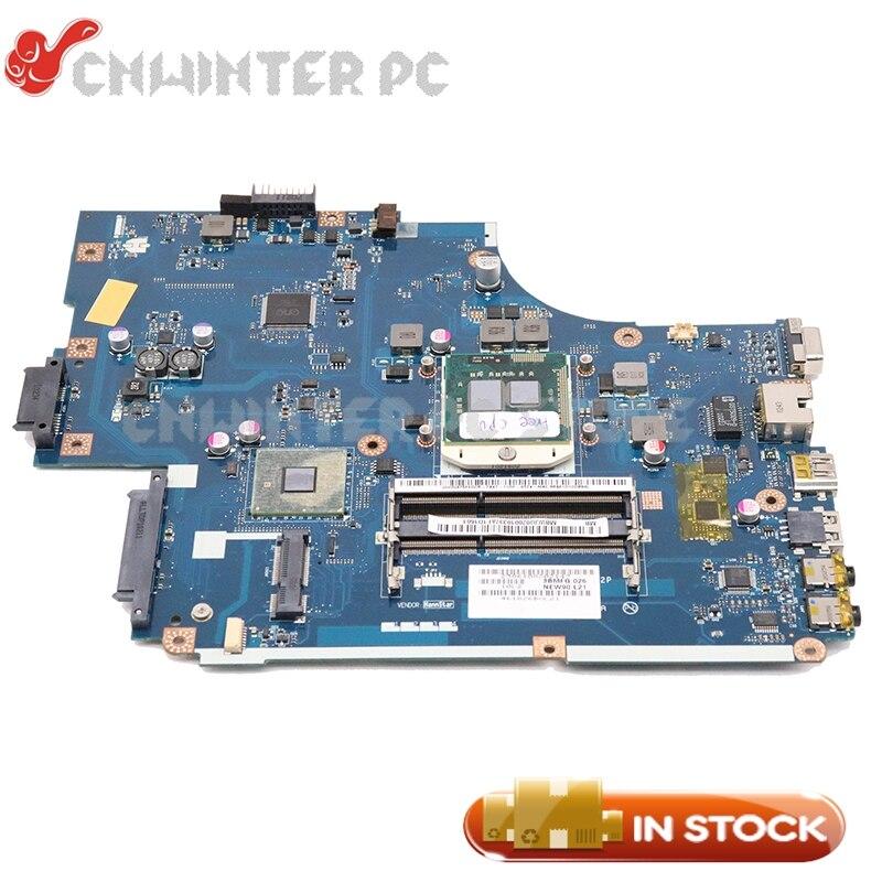 NOKOTION For Acer Aspire 5742 5742G For Gateway NV59 Laptop Motherboard MBWJU02001 NEW70 LA-5892P HM55 Free CPU