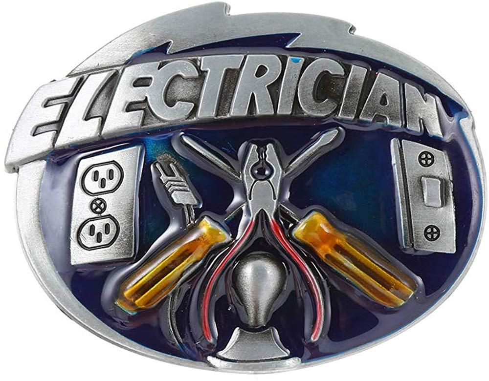 ELECTRICIAN TOOL Belt Buckle For Man Western Cowboy Buckle Without Belt Custom Alloy Width 4cm